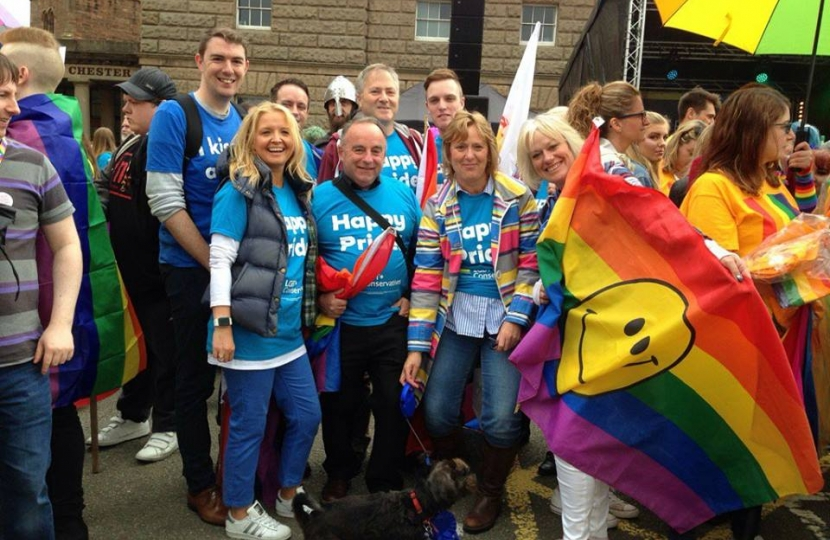 Conservatives at Chester Pride